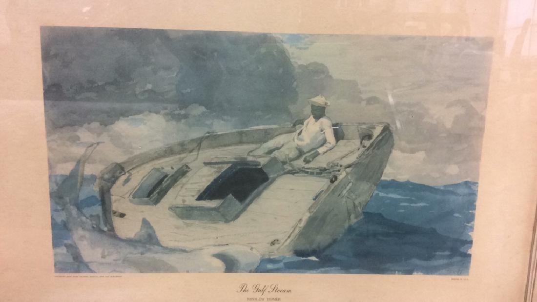 Winslow Homer Framed Print Art - 2