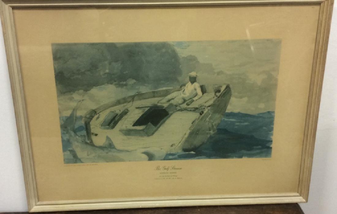 Winslow Homer Framed Print Art - 3