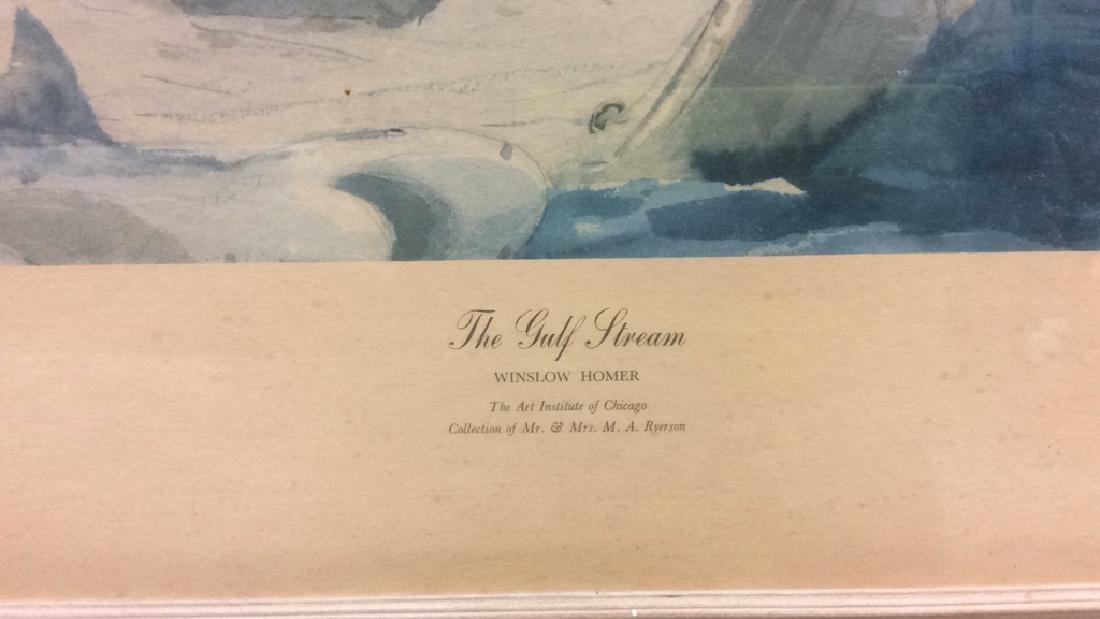 Winslow Homer Framed Print Art - 4