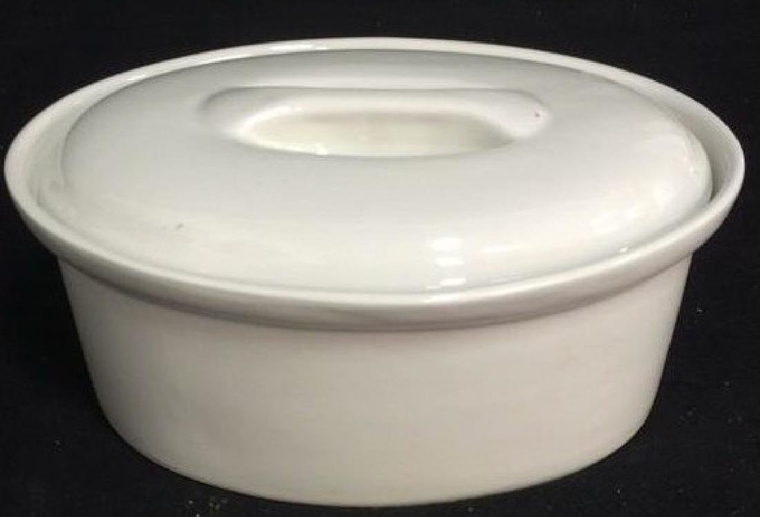 Apilco France 1 Quart Oval Covered Casserole