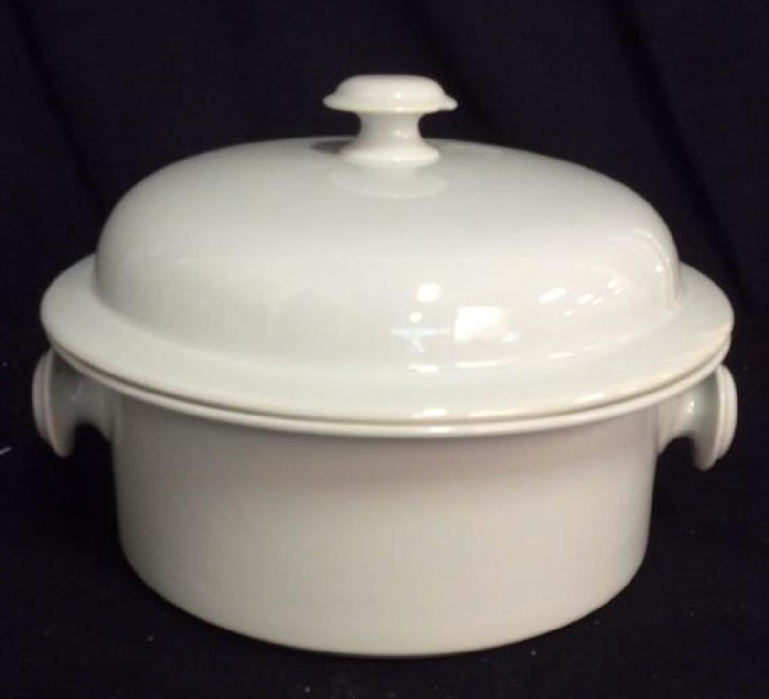 Vintage Dansk Bistro Porcelain Japan Pot With Lid