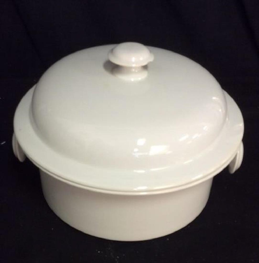 Vintage Dansk Bistro Porcelain Japan Pot With Lid - 2