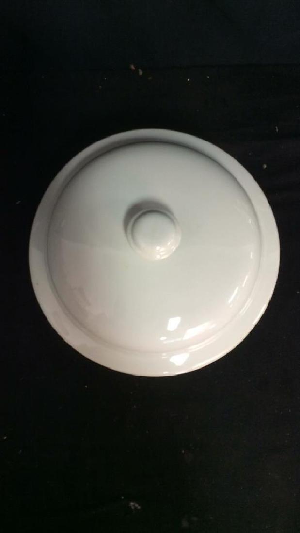 Vintage Dansk Bistro Porcelain Japan Pot With Lid - 3