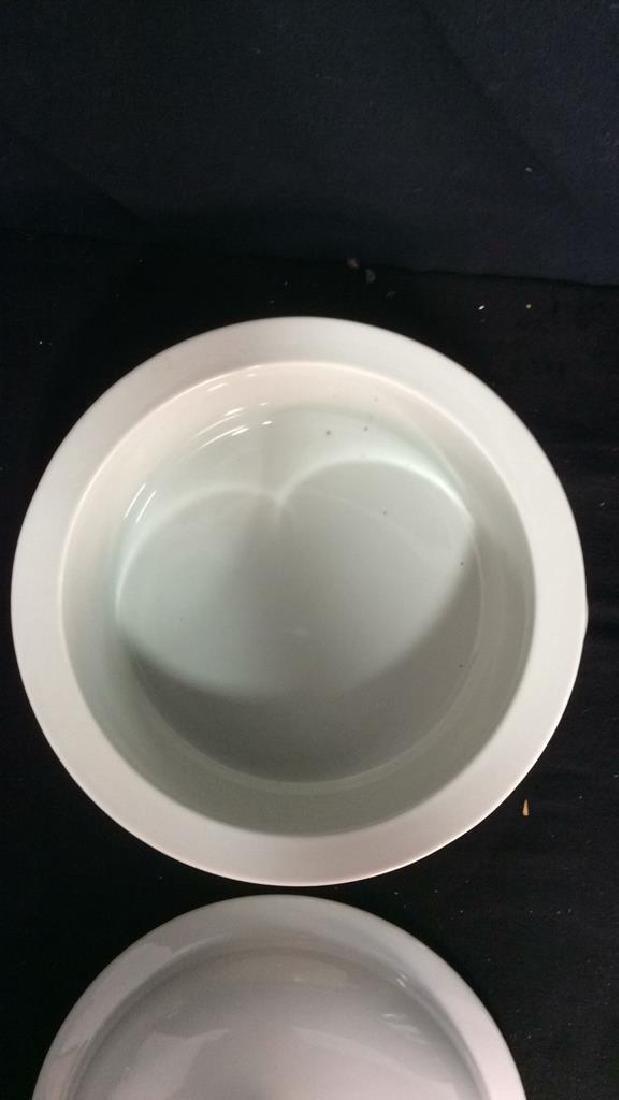 Vintage Dansk Bistro Porcelain Japan Pot With Lid - 4
