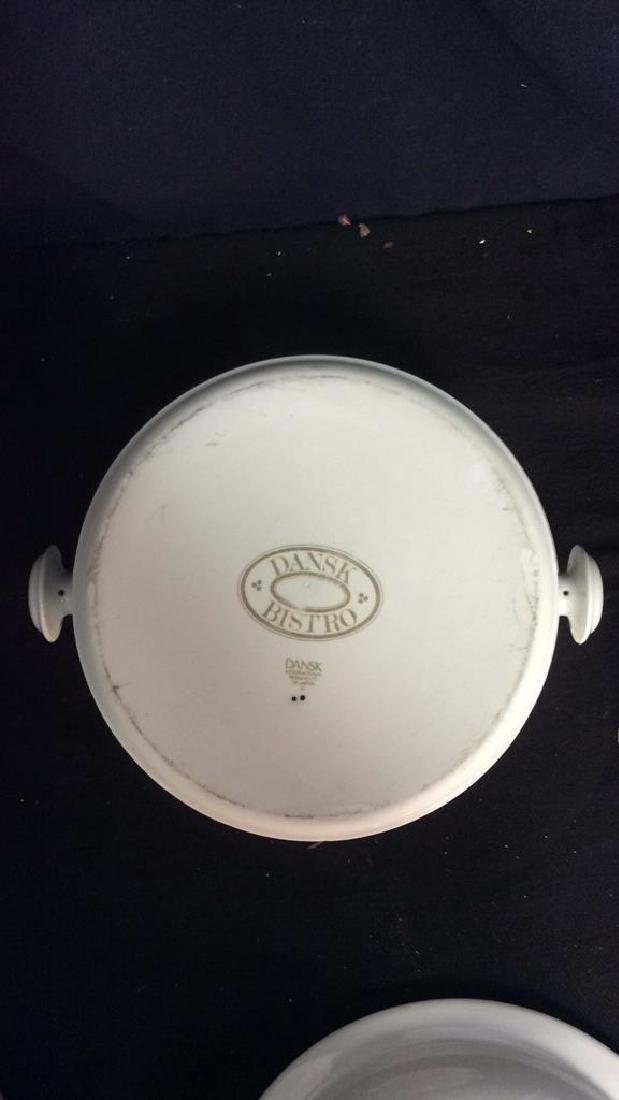 Vintage Dansk Bistro Porcelain Japan Pot With Lid - 5