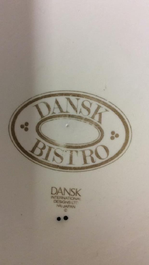 Vintage Dansk Bistro Porcelain Japan Pot With Lid - 6