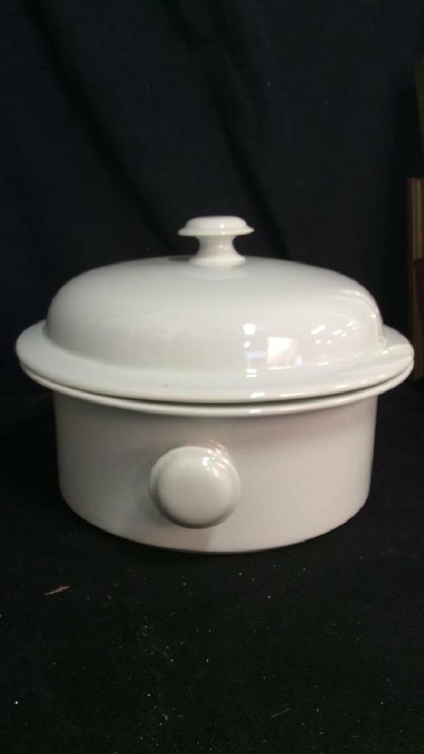 Vintage Dansk Bistro Porcelain Japan Pot With Lid - 7