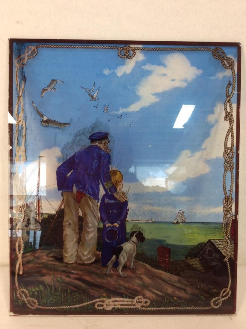 Norman Rockwell Stained Glass Art Reproduction - 6