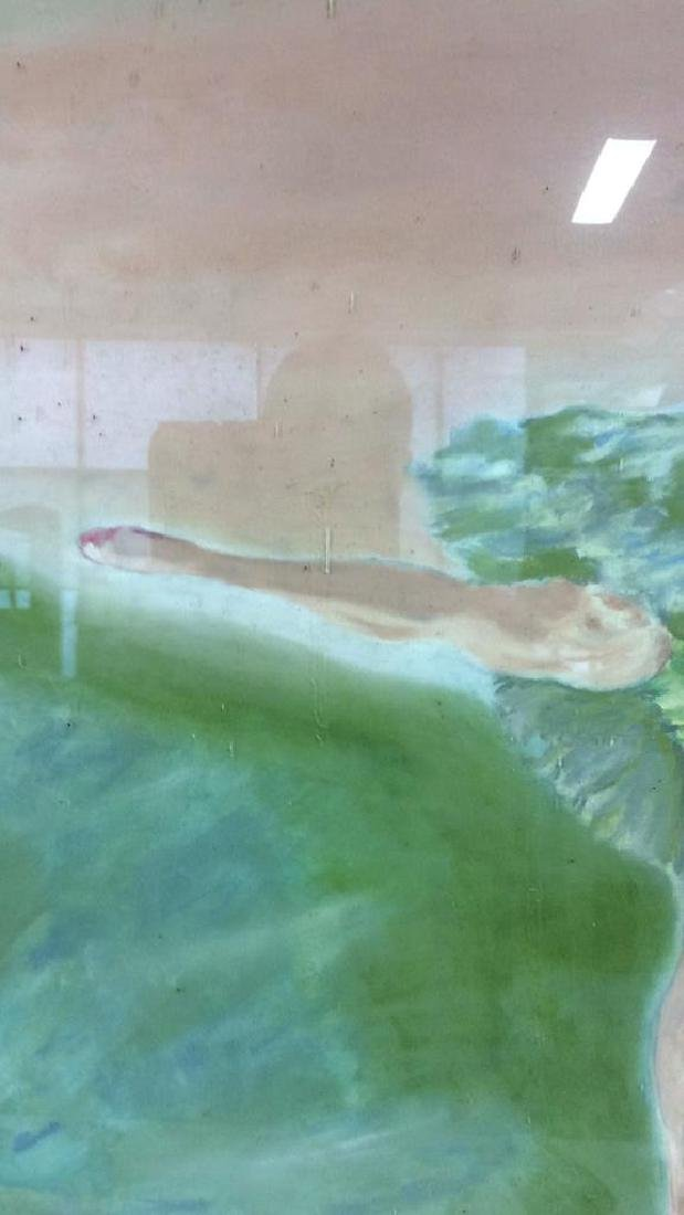 Beuigini Signed Framed Ballerina Painting - 4