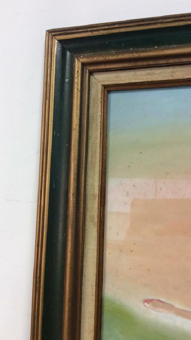 Beuigini Signed Framed Ballerina Painting - 5