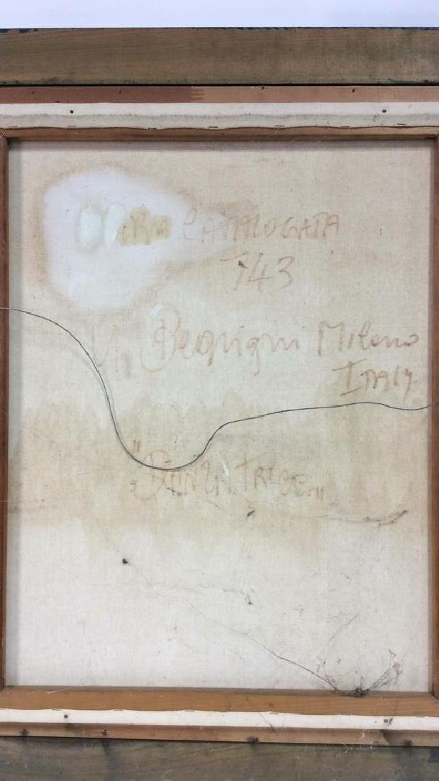 Beuigini Signed Framed Ballerina Painting - 7