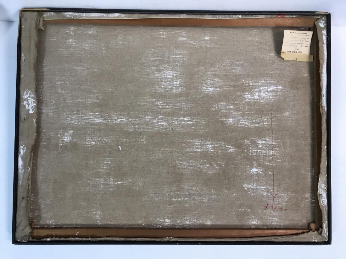 DAVID RAYMOND MANHATTAN Oil On Canvas - 10