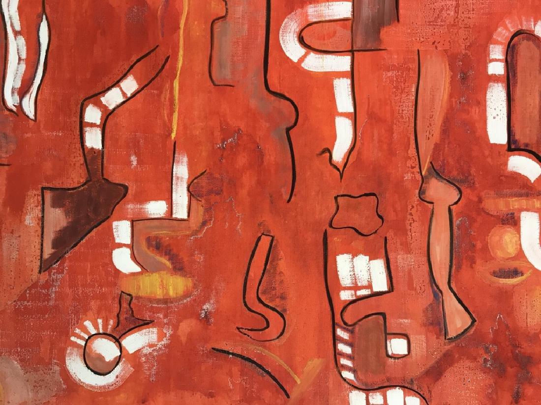 DAVID RAYMOND MANHATTAN Oil On Canvas - 3