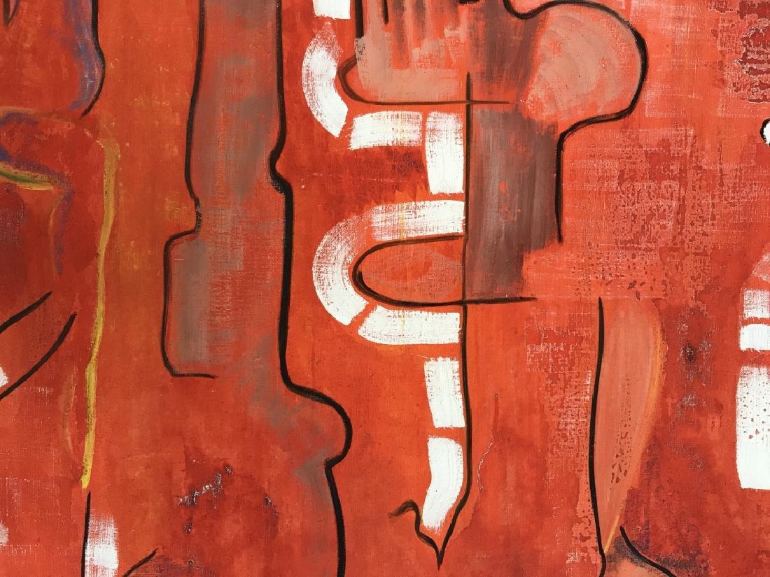 DAVID RAYMOND MANHATTAN Oil On Canvas - 4