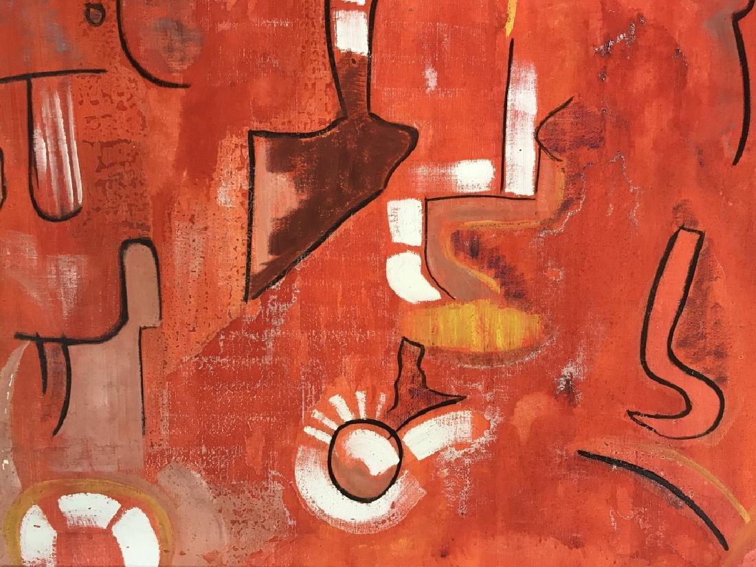 DAVID RAYMOND MANHATTAN Oil On Canvas - 5