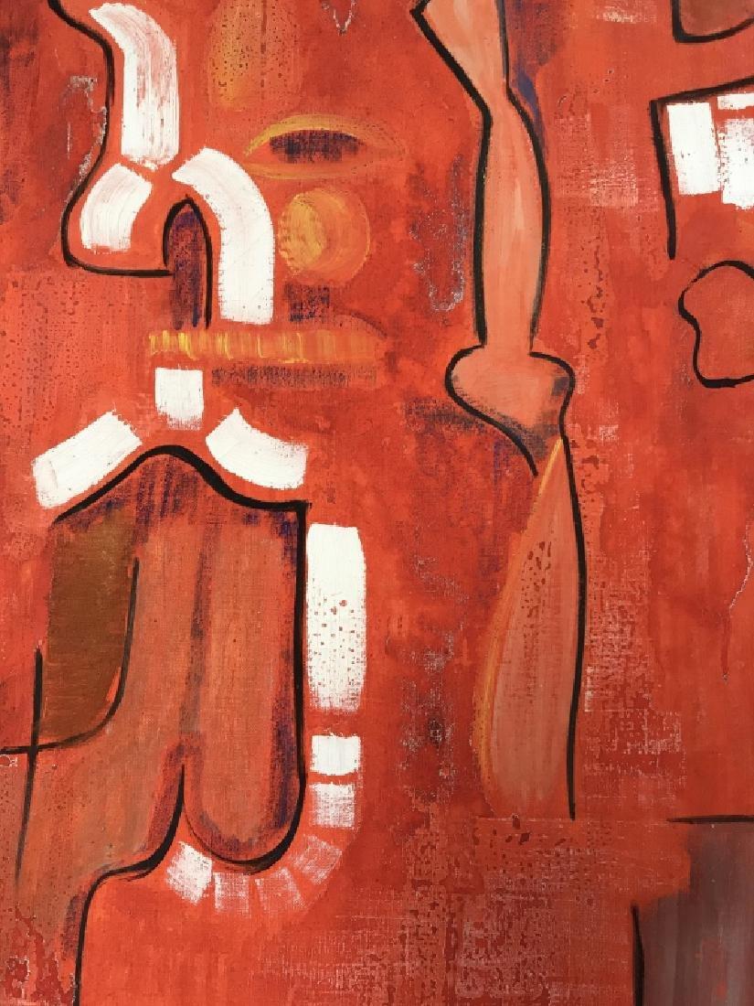 DAVID RAYMOND MANHATTAN Oil On Canvas - 7