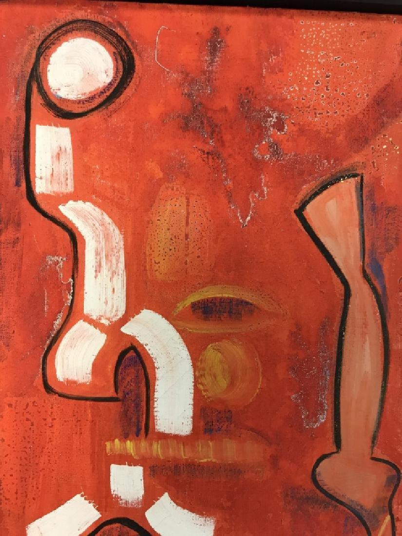 DAVID RAYMOND MANHATTAN Oil On Canvas - 8