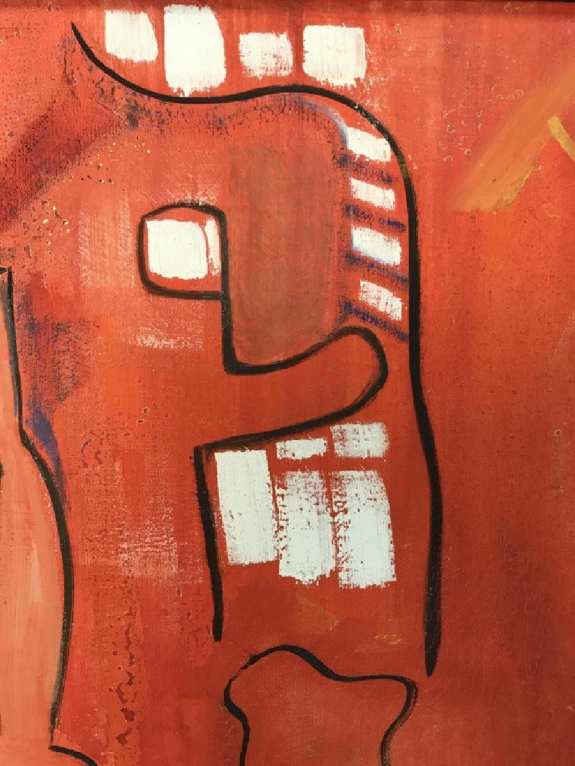 DAVID RAYMOND MANHATTAN Oil On Canvas - 9