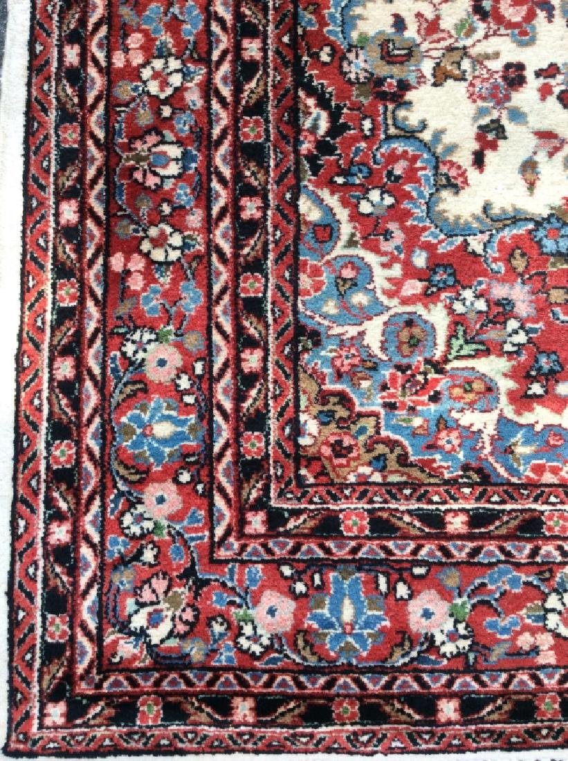 Intricately Detailed Handmade Wool Pile Rug