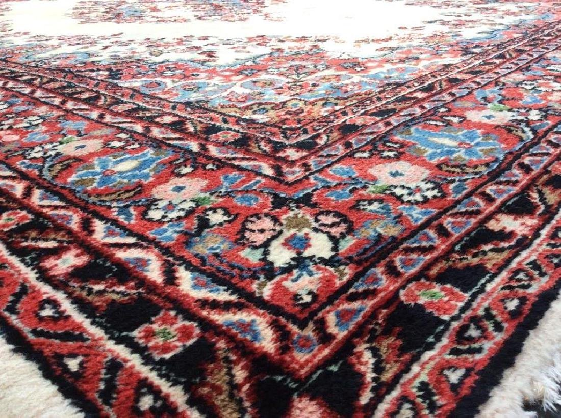 Intricately Detailed Handmade Wool Pile Rug - 4