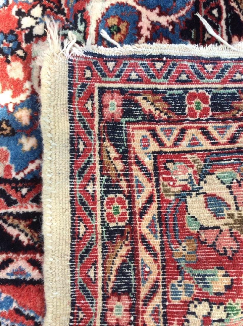 Intricately Detailed Handmade Wool Pile Rug - 8