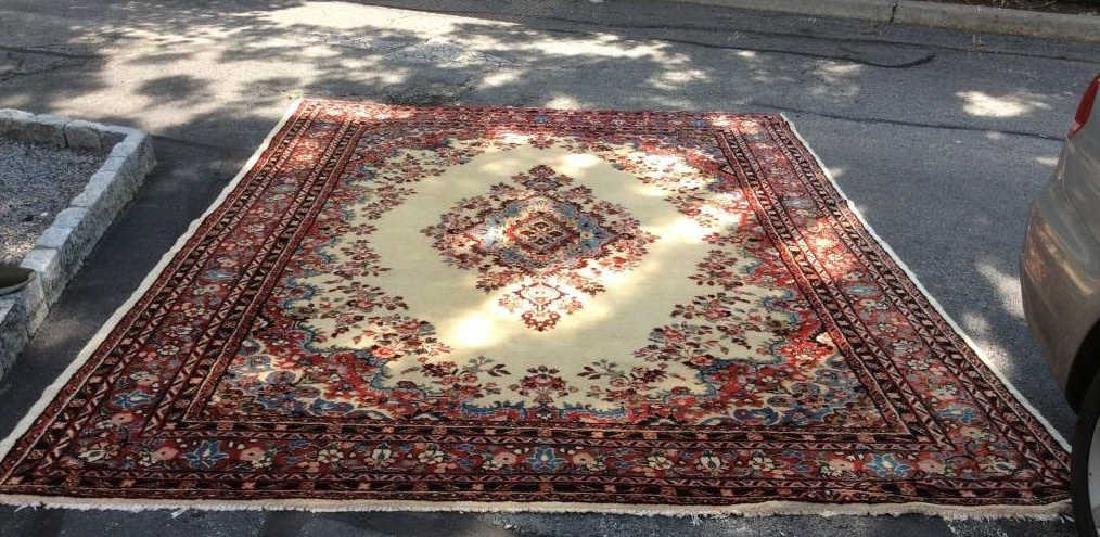 Intricately Detailed Handmade Wool Pile Rug - 9