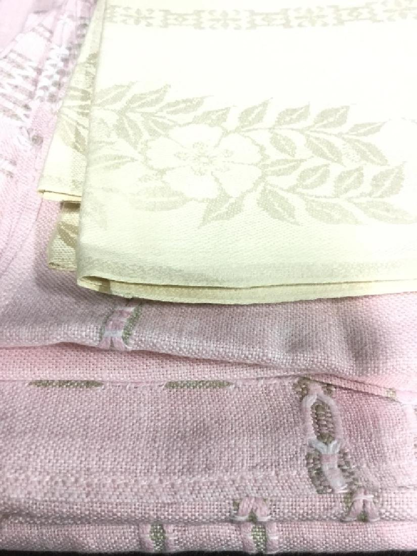 Group Lot Linens Assorted