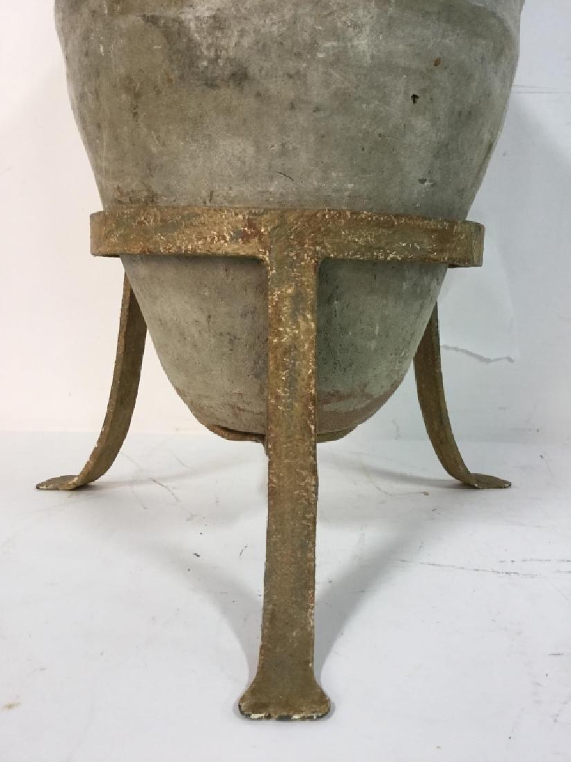 19th C Mediterranean Terracotta Jar Lamp - 3