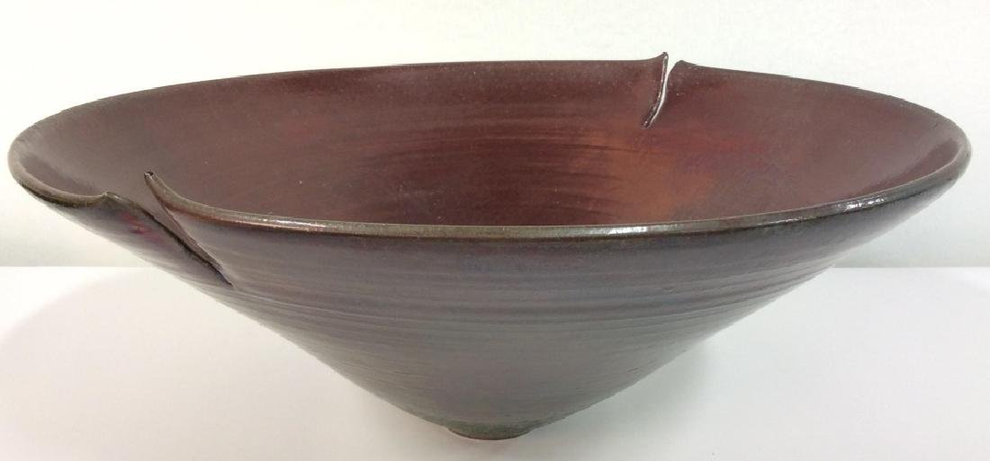 Signed Beirney Bernstein Midwest Pottery Bowl