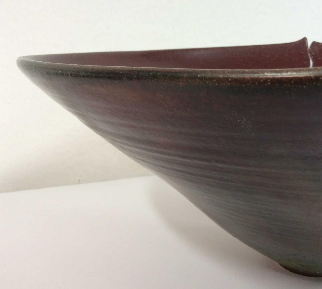 Signed Beirney Bernstein Midwest Pottery Bowl - 8