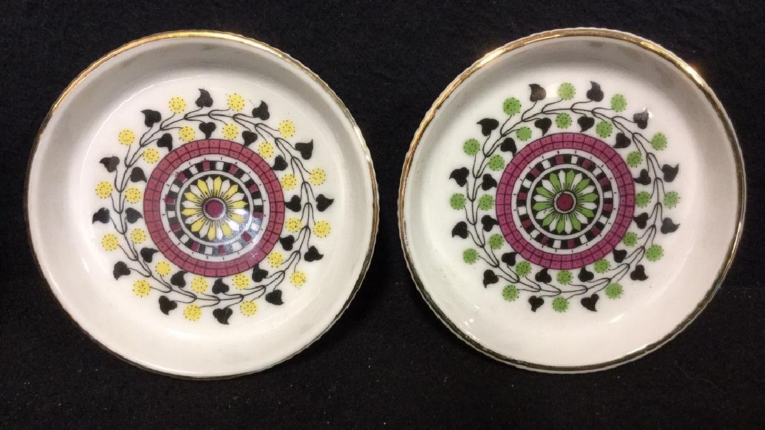 Lot 7 Vintage Japanese Porcelain Ceramic Coasters