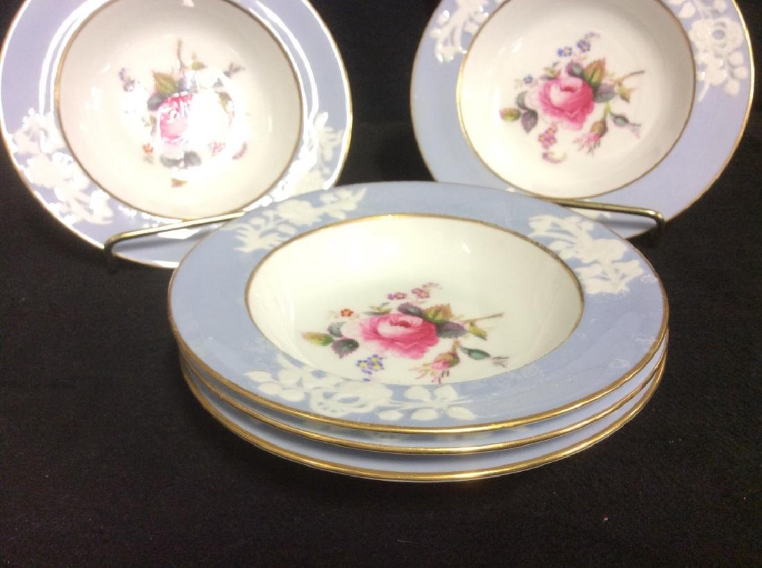 Set 5 England Copeland Porcelain Plates - 7