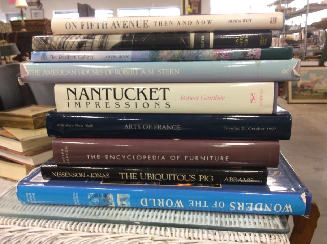 Group Lot of Coffee Table Art Books and more