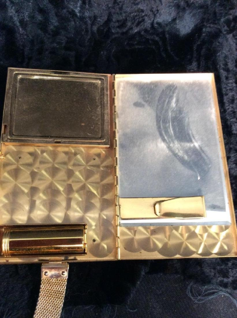 Vintage Mother of Pearl Inlay Clutch Wallet - 7