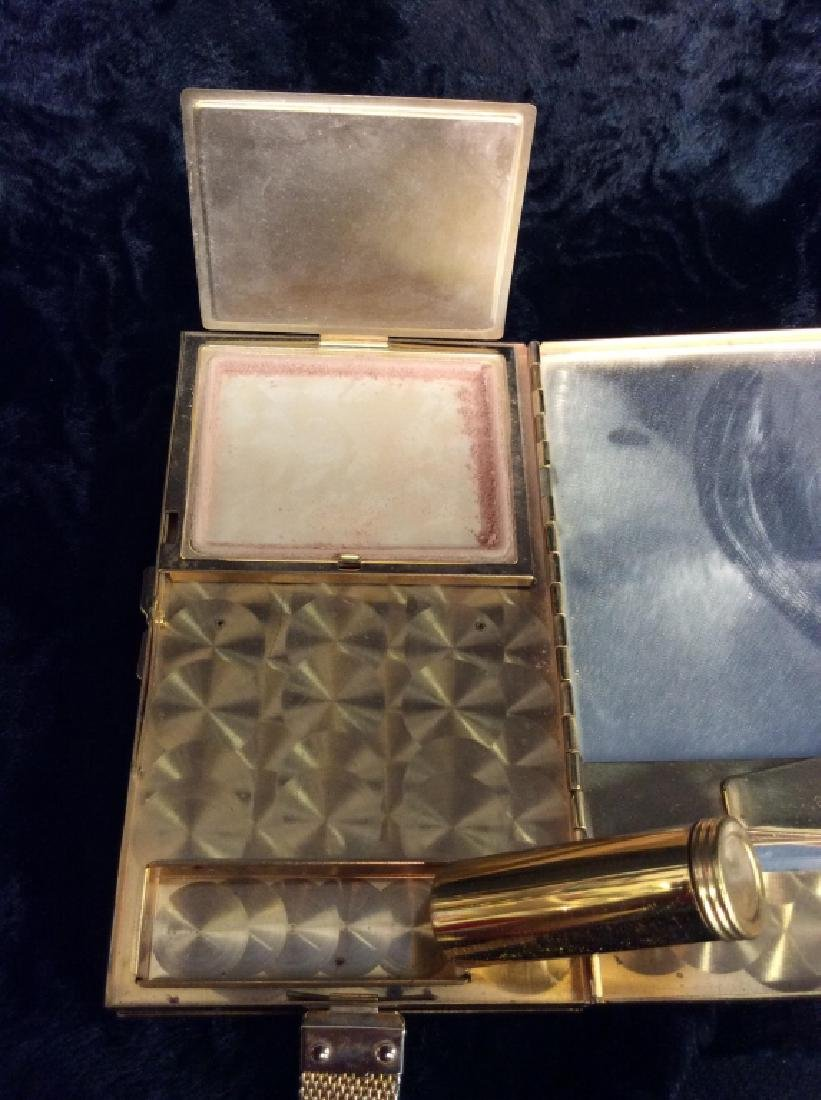 Vintage Mother of Pearl Inlay Clutch Wallet - 8