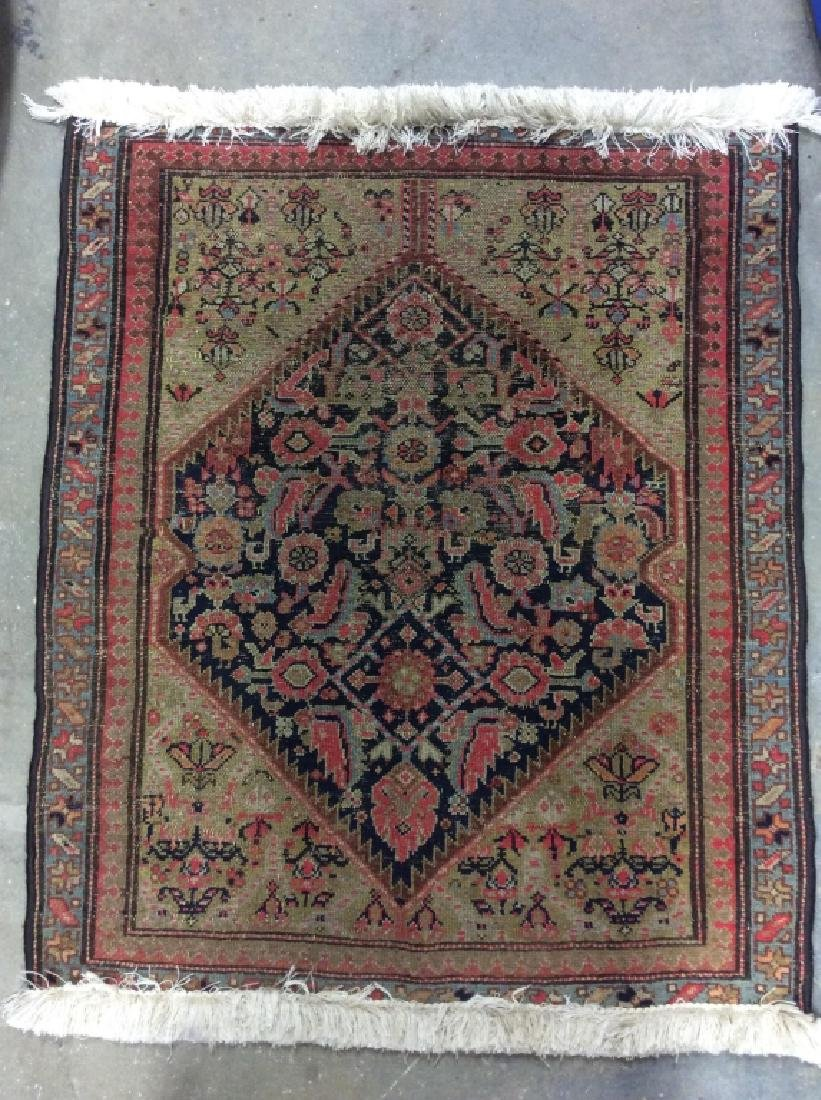 Hand Made Wool Oriental Area Rug - 2