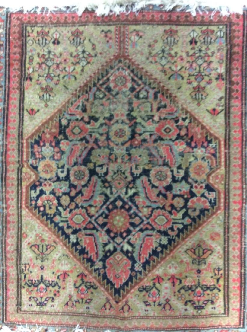 Hand Made Wool Oriental Area Rug - 3