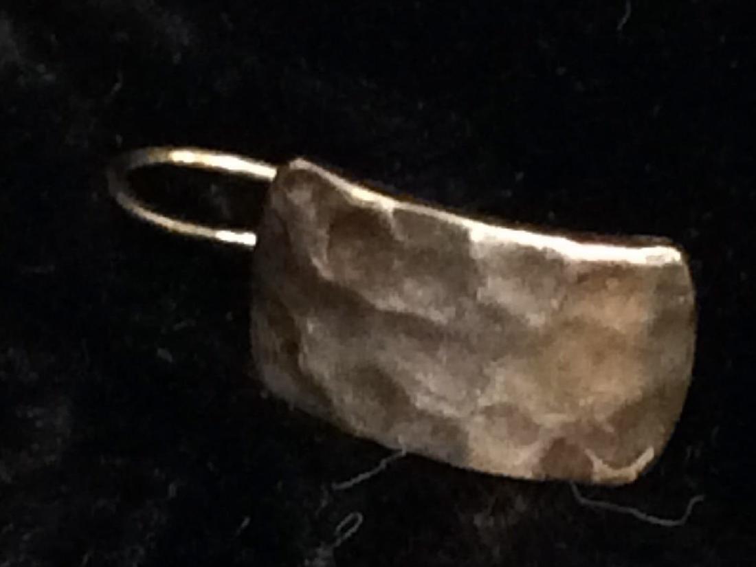 Vintage Lynette Miller Sterling Silver Brooch Pin - 7