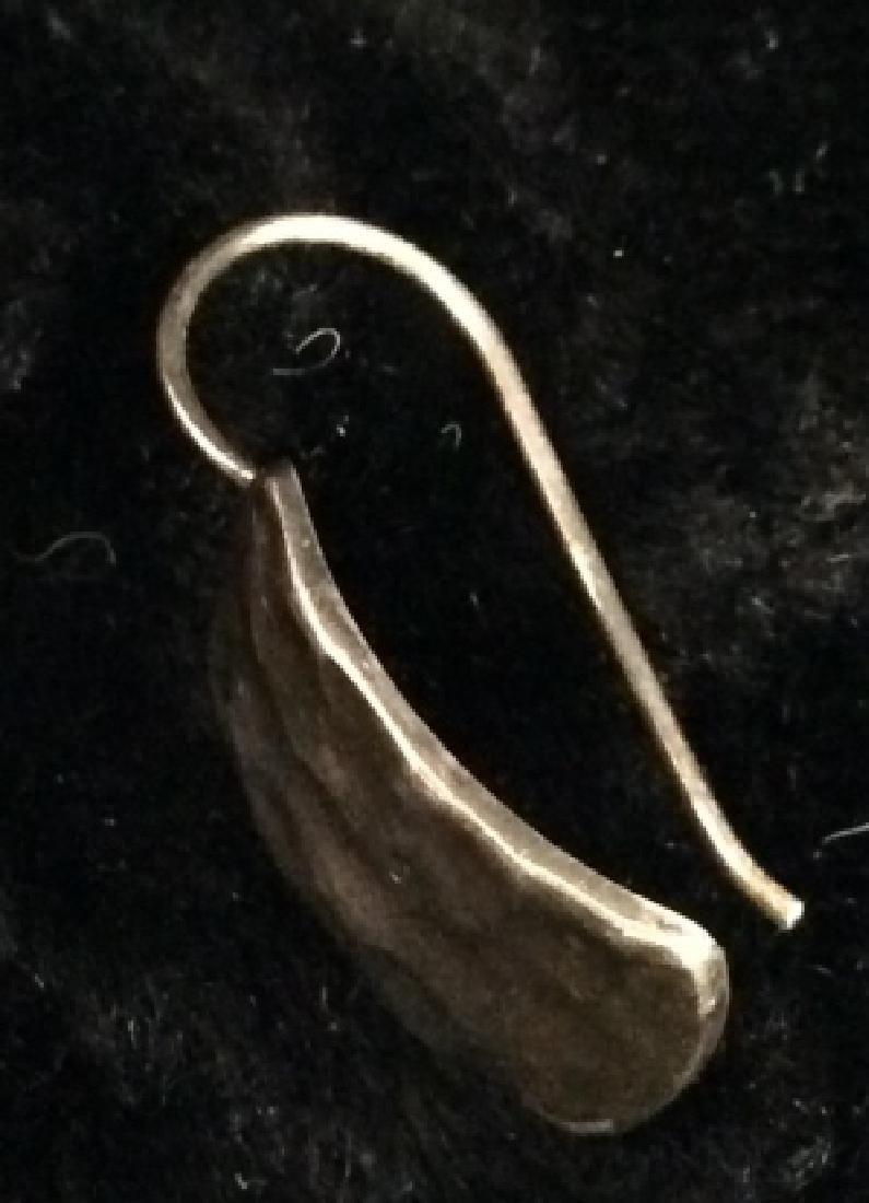 Vintage Lynette Miller Sterling Silver Brooch Pin - 8