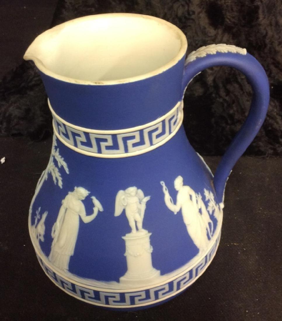 Indigo WEDGEWOOD Porcelain Pitcher