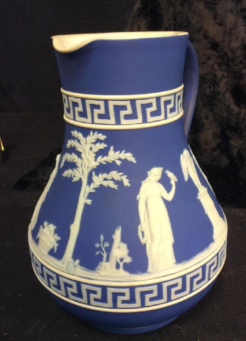 Indigo WEDGEWOOD Porcelain Pitcher - 4