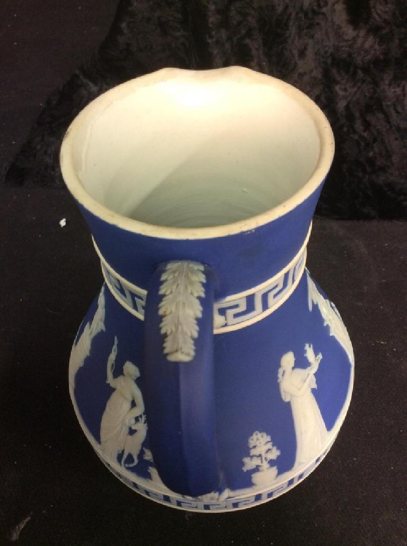 Indigo WEDGEWOOD Porcelain Pitcher - 6