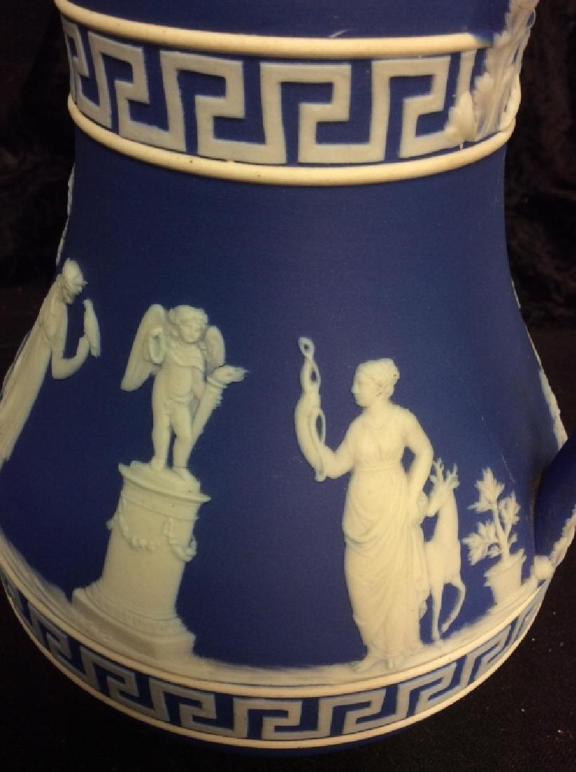 Indigo WEDGEWOOD Porcelain Pitcher - 7