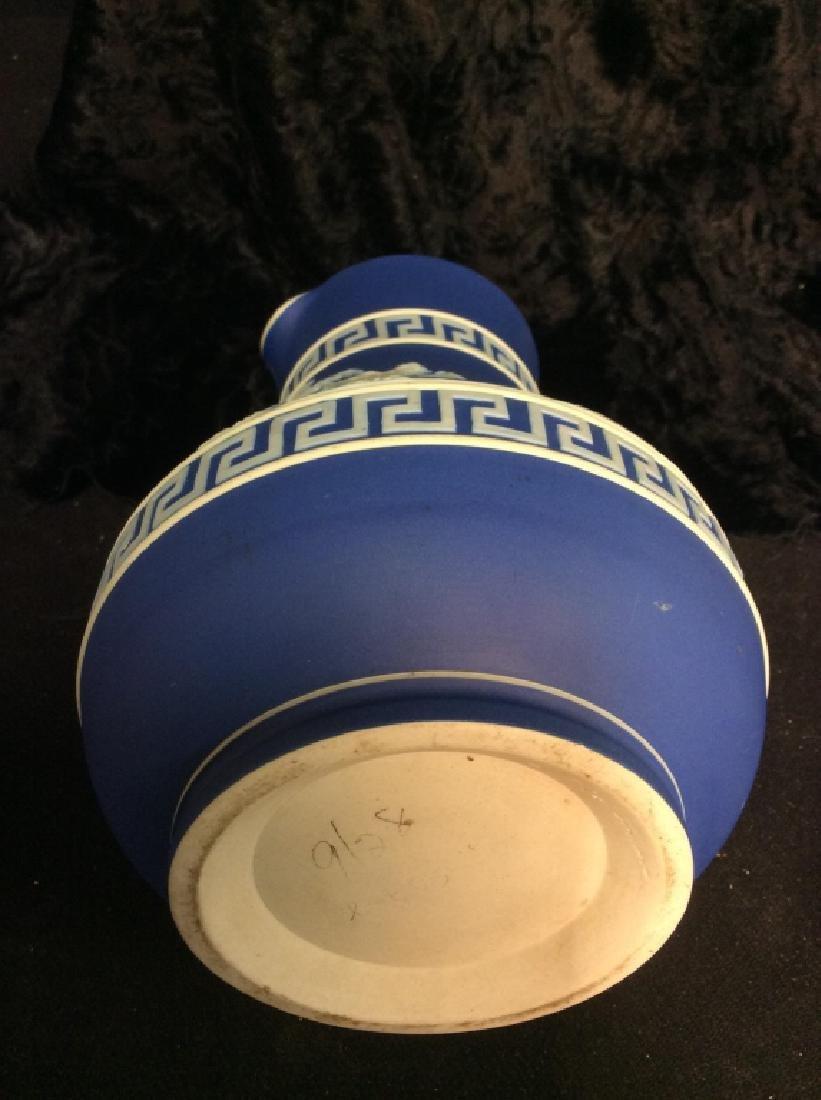 Indigo WEDGEWOOD Porcelain Pitcher - 8