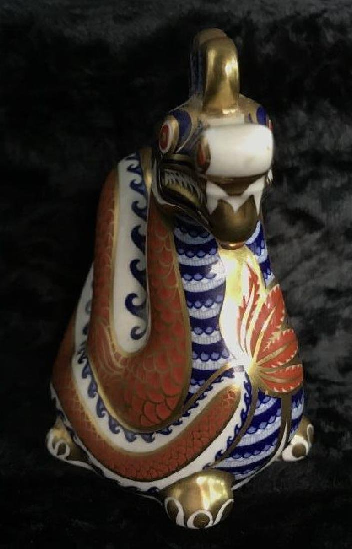 ROYAL CROWN DERBY Fine Bone China Dragon Figural - 4