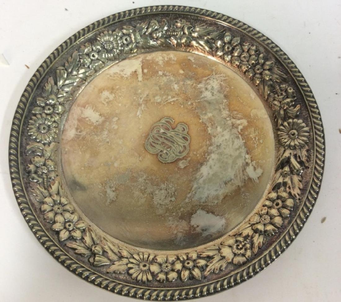 Gotham Silver Soldered Repousse Plate