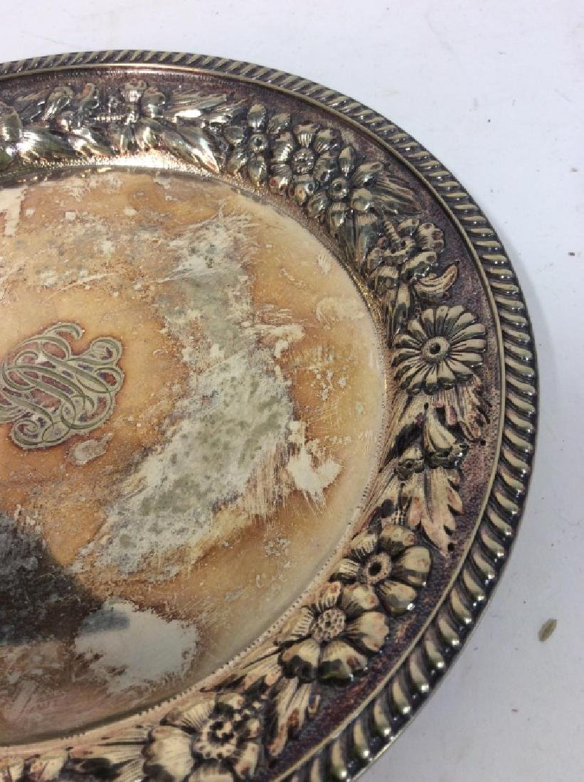 Gotham Silver Soldered Repousse Plate - 2