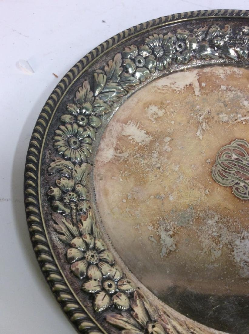 Gotham Silver Soldered Repousse Plate - 3