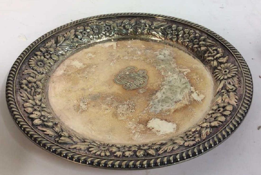 Gotham Silver Soldered Repousse Plate - 4