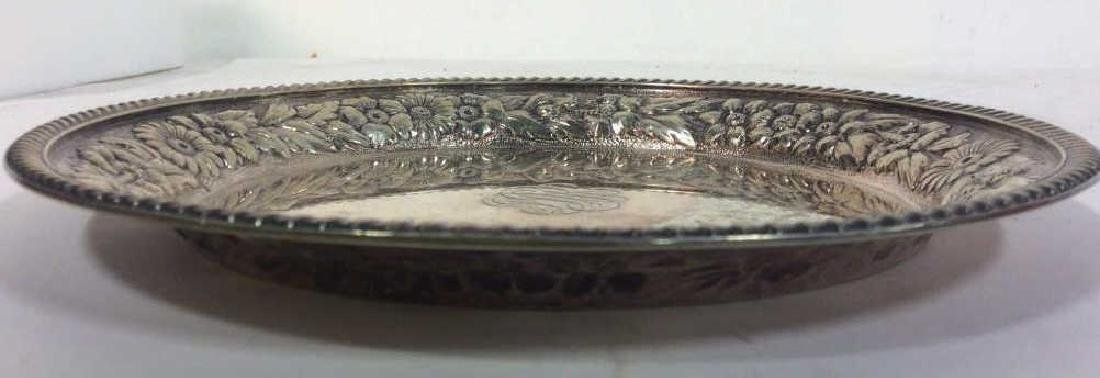 Gotham Silver Soldered Repousse Plate - 6